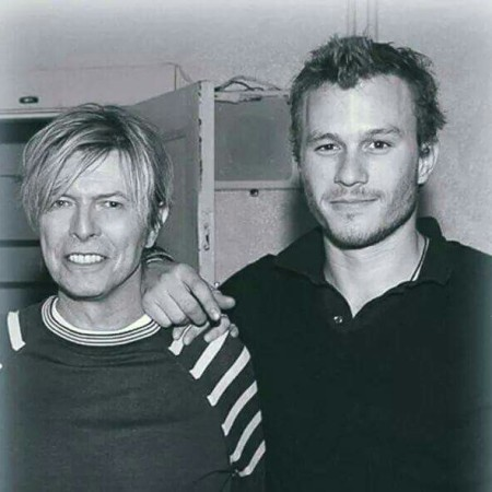 David Bowie e Heath Ledger