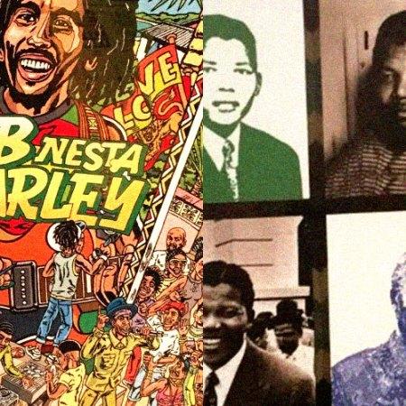 Jamaica e Mandela - Exposições em São Paulo e Fortaleza