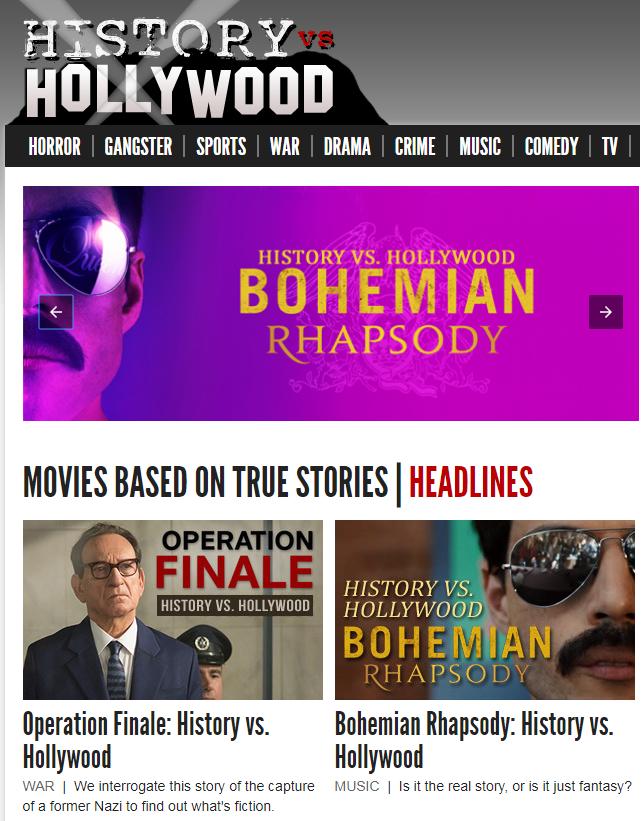 History vs Hollywood